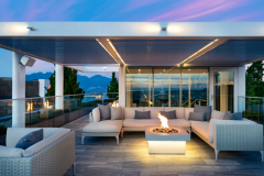 Telus-Garden-penthouse-fireplace