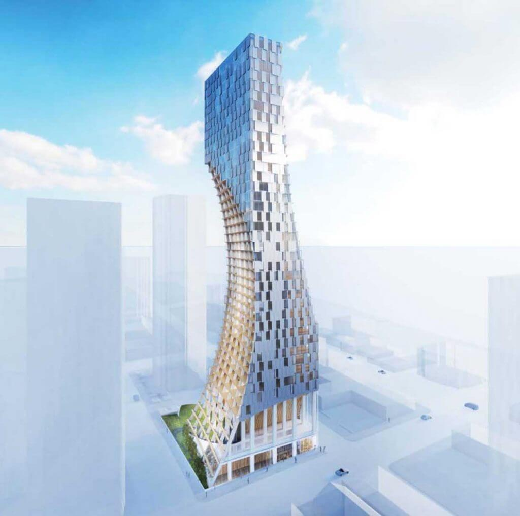 Curved luxury condo tower proposed for Coal Harbour