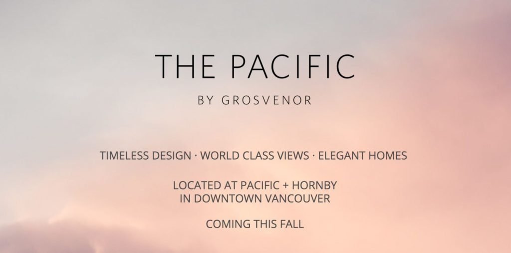 The Pacific by Grosvenor
