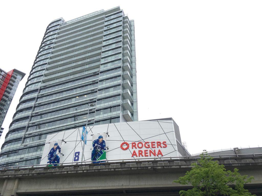 Aquilini Centre rental apartments