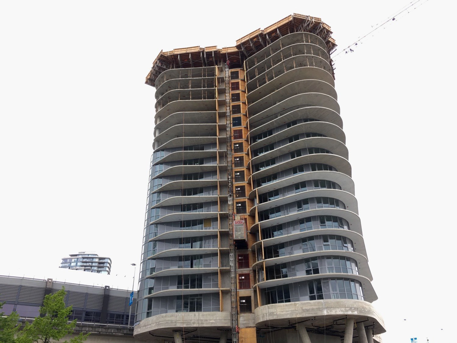 Second tower of rental apartments at Rogers Arena takes
