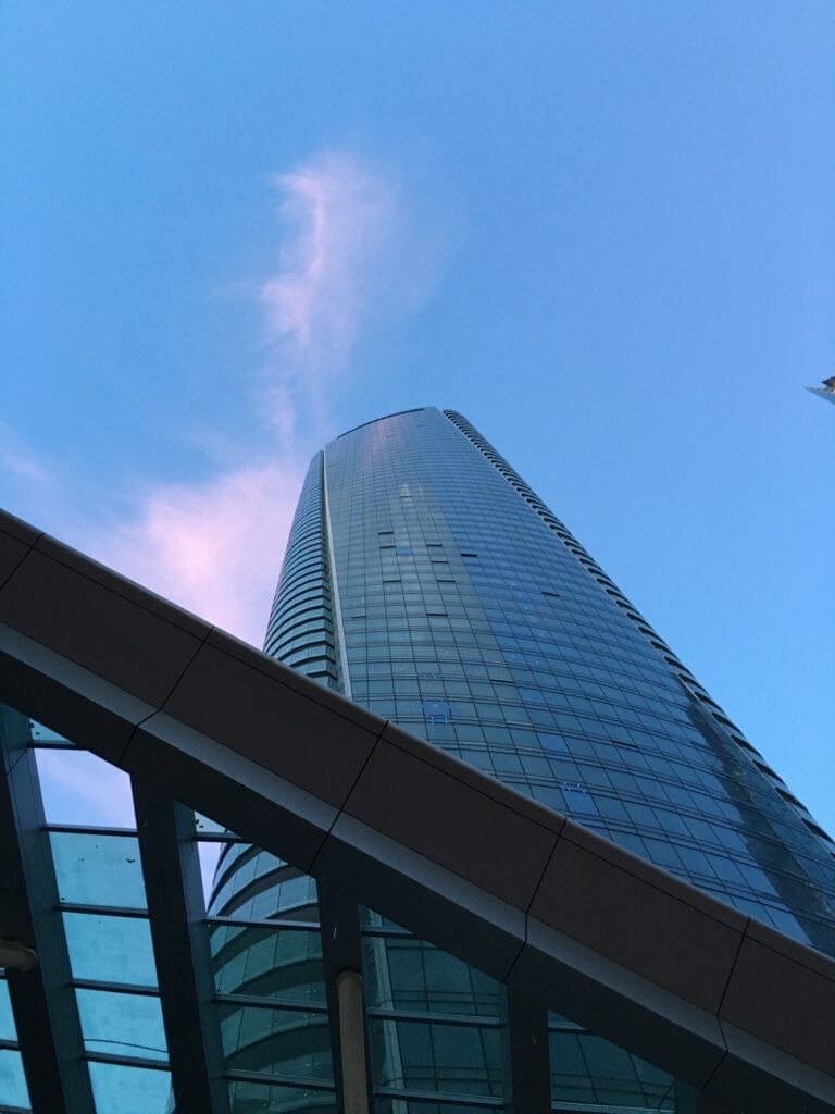 Trump Tower Vancouver hotel and condos almost complete