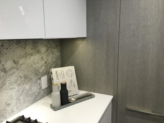 Kitchen in Bianco colour scheme