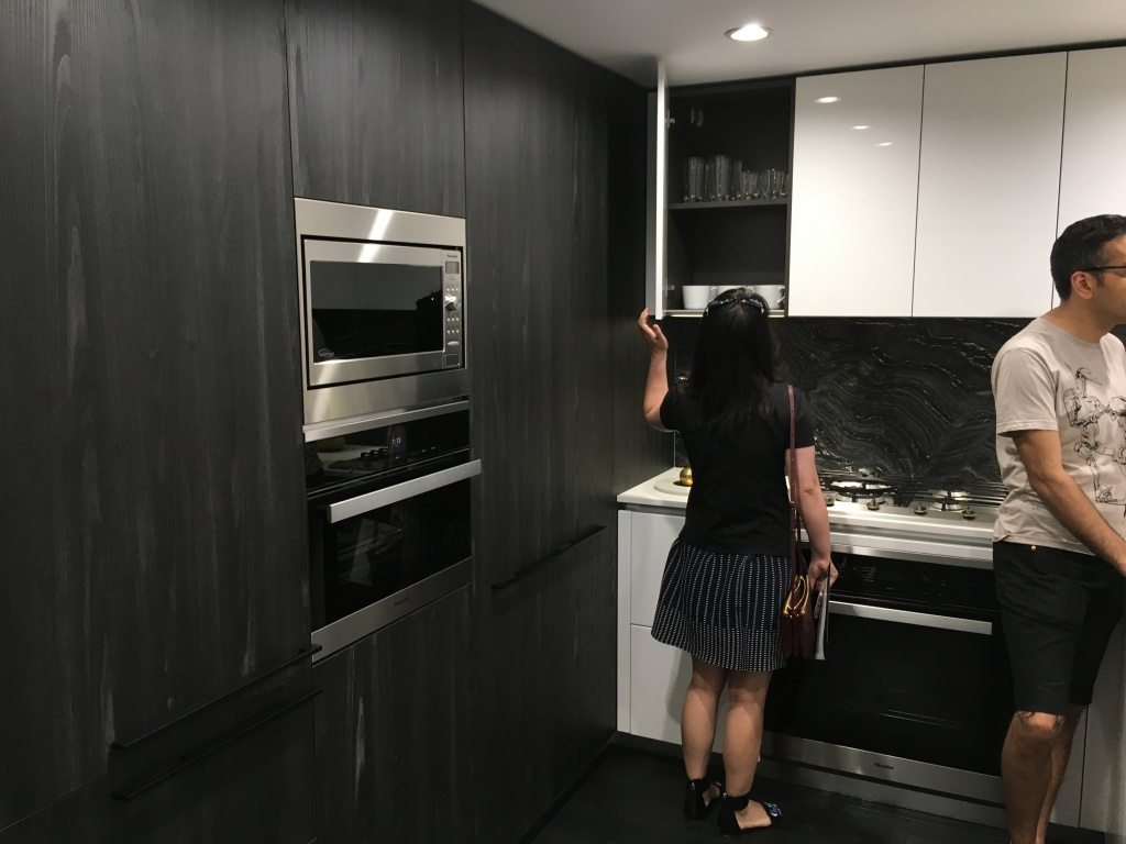 Three bedroom kitchen with Nero colour scheme.