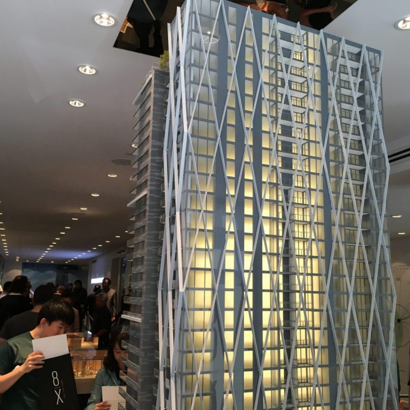 8x on the Park tower model