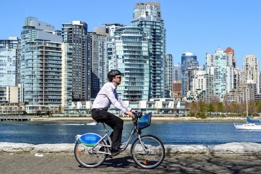 Vancouver bike share Mobi tentative prices