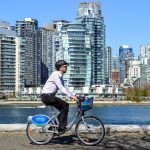 Map of new bike lanes coming to downtown Vancouver