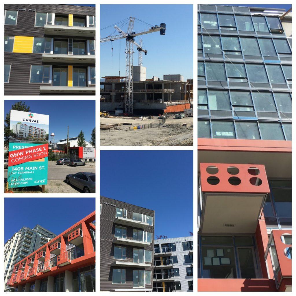 New Emily Carr campus, Canvas & Block 100 rise in False Creek