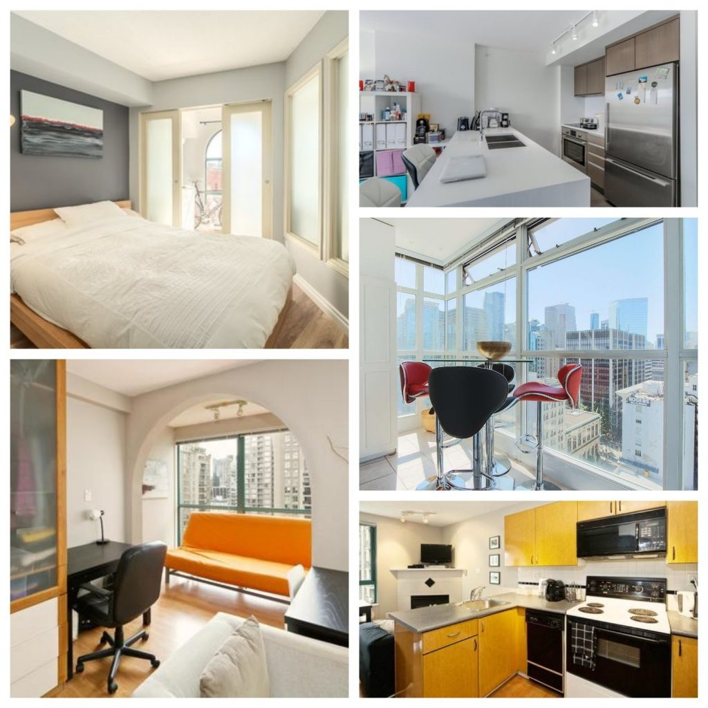 Best downtown Vancouver one bedroom condos under 0,000