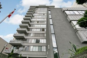 Brockton House apartment by Hollyburn.