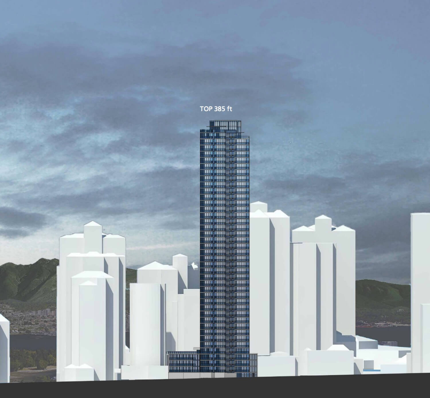 Hollyburn proposes new Coal Harbour rental apartment tower