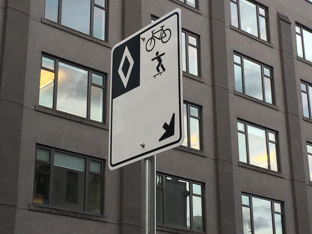 New downtown Vancouver bike lanes take shape