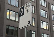 Downtown Vancouver bike lanes