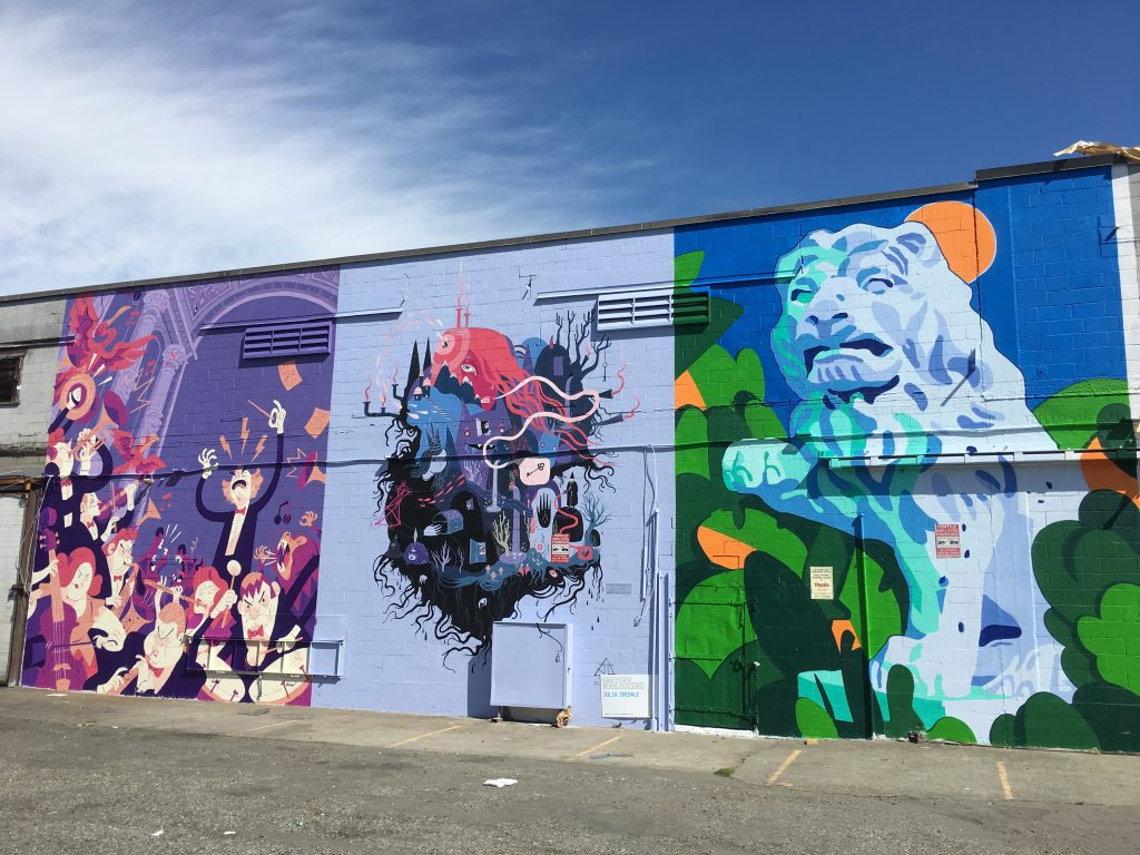 vancouver mural festival brightens up mount pleasant