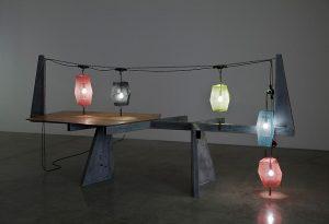 Telus Garden lanterns
