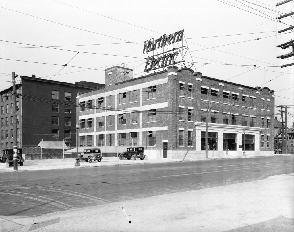Northern Electric Company building Vancouver
