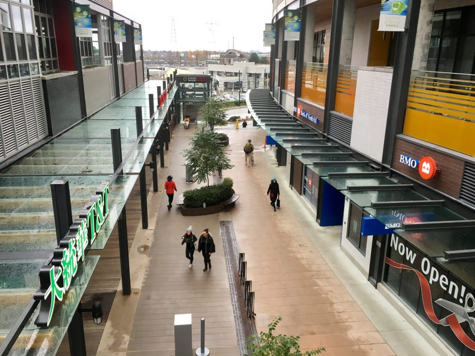 Marine Gateway offers Cineplex theatre, T&T, and condos