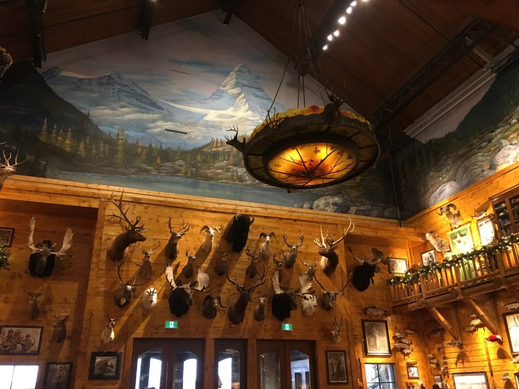 Bass Pro Shops taxidermy