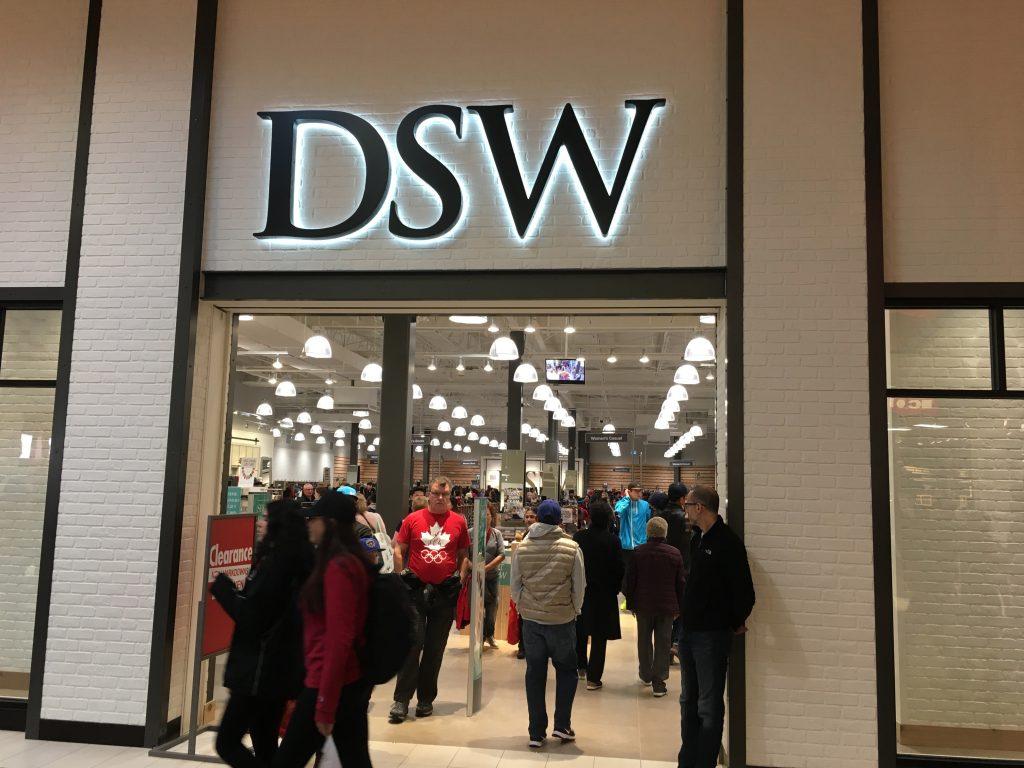 DSW Designer Shoe Warehouse outlet