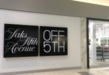Saks Fifth Avenue outlet at Tsawwassen Mills