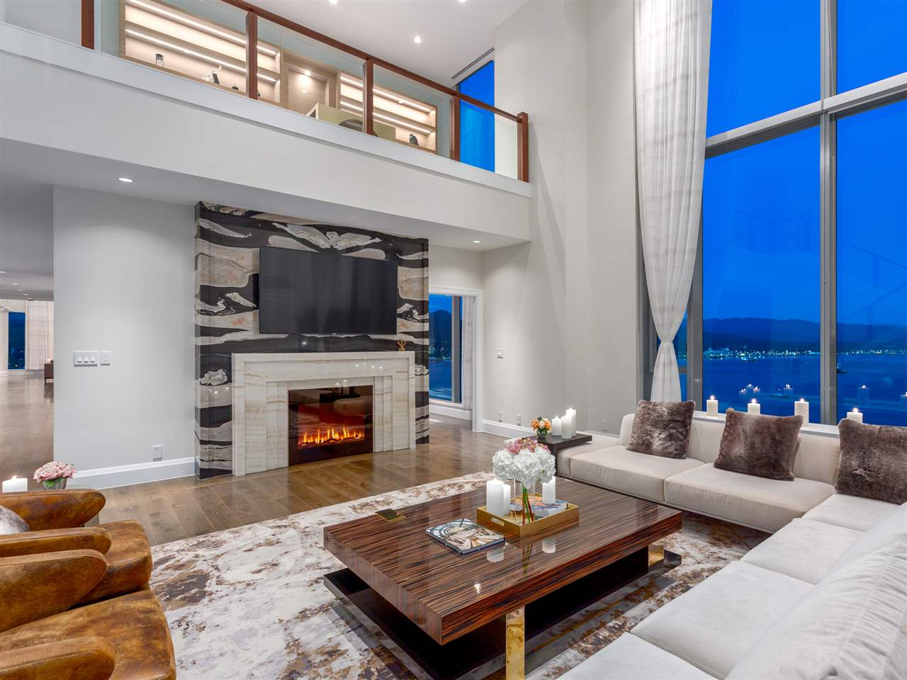 Inside 58 Million Vancouver Penthouse Most Expensive In