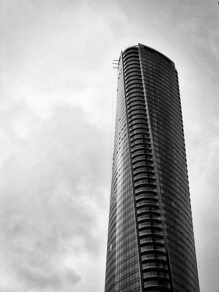The Trump Tower on West Georgia Street in Coal Harbour.