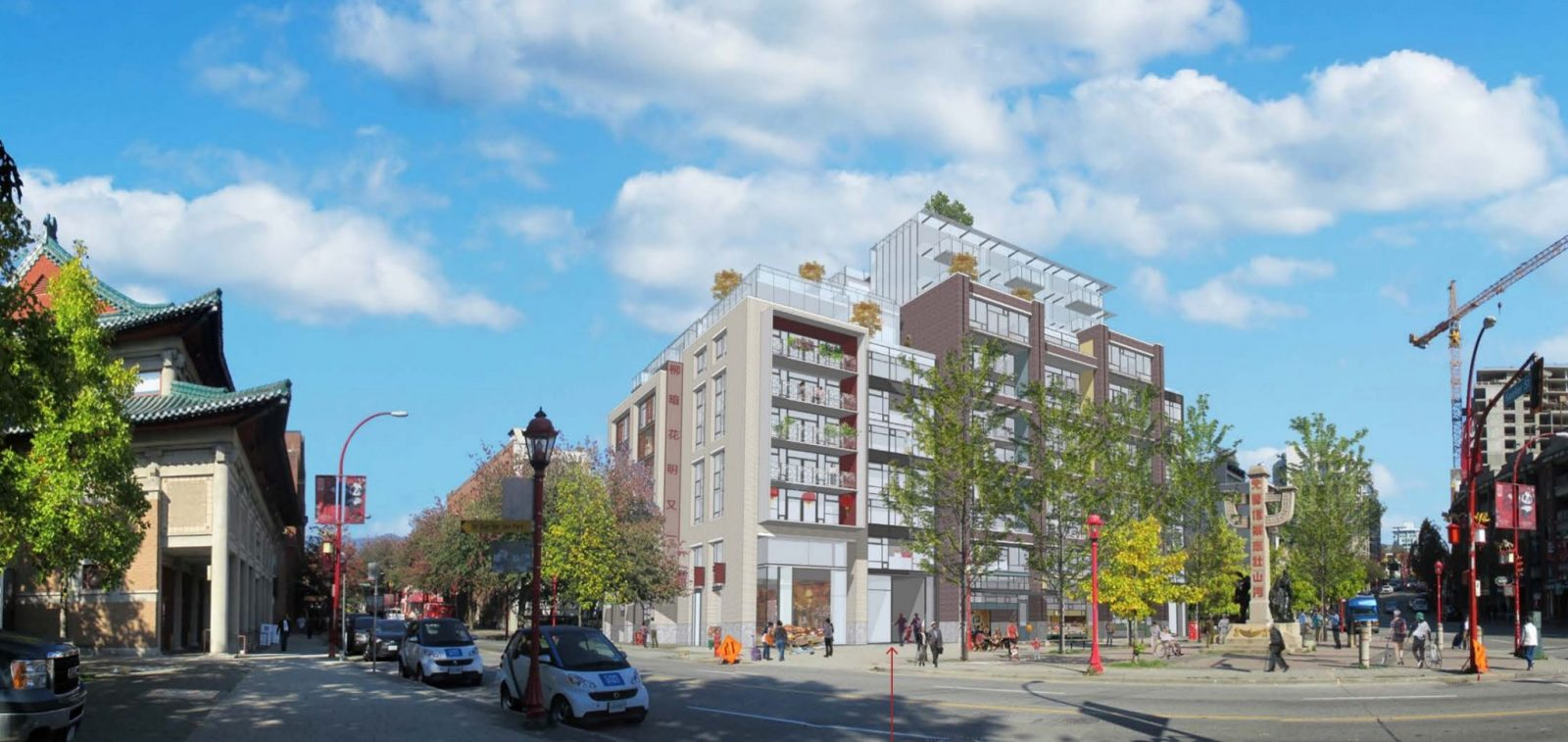 Proposal for Chinatown condos reworked for fourth time
