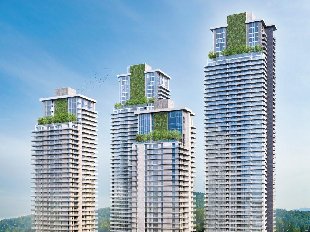 City of Lougheed tower rendering