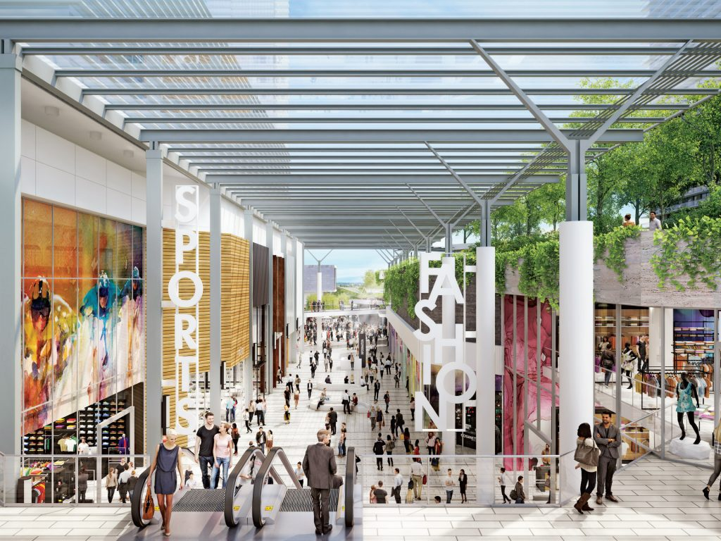 Galleria retail spaces