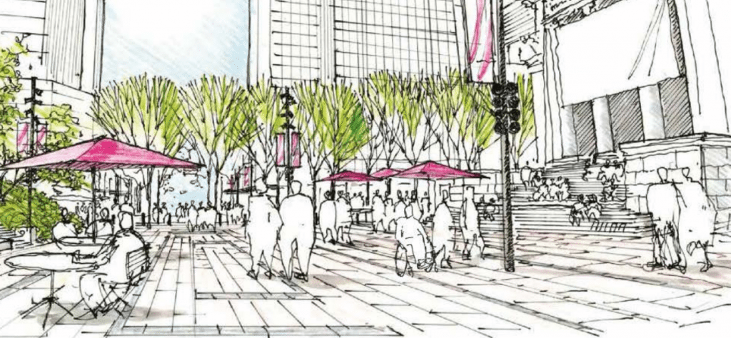 Design for new Robson Street plaza revealed