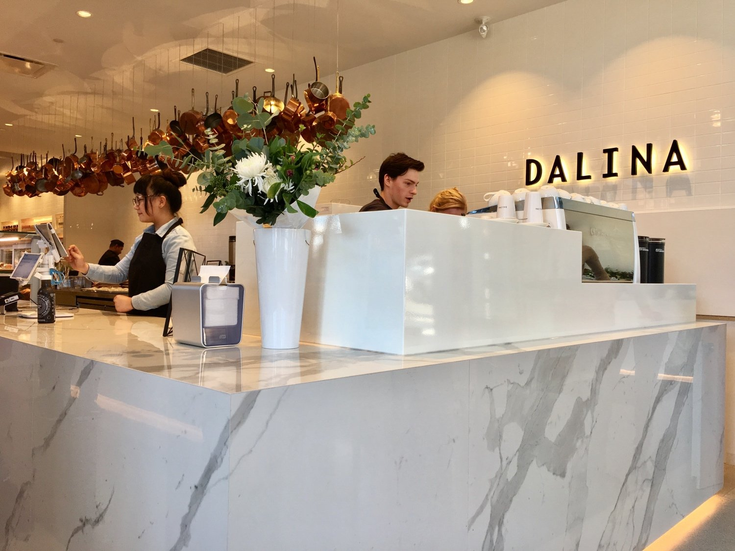 New cafe, deli and grocer Dalina now open in Chinatown