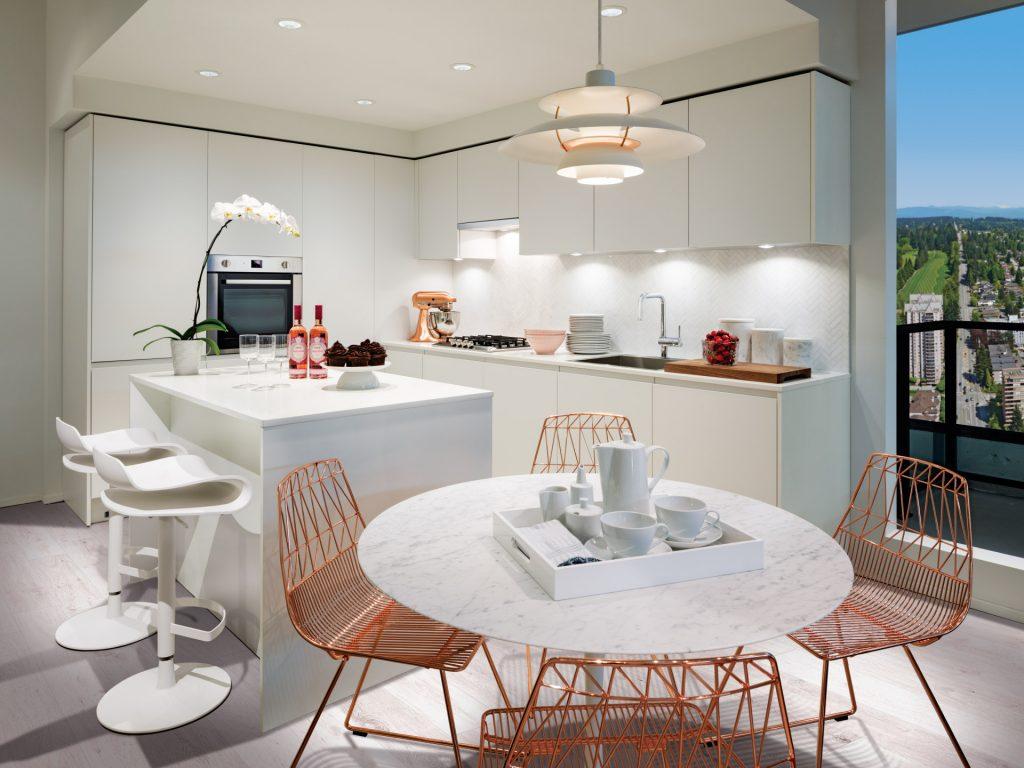 Light colour scheme - kitchen