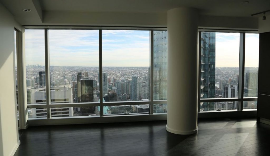 Trump Tower Vancouver view