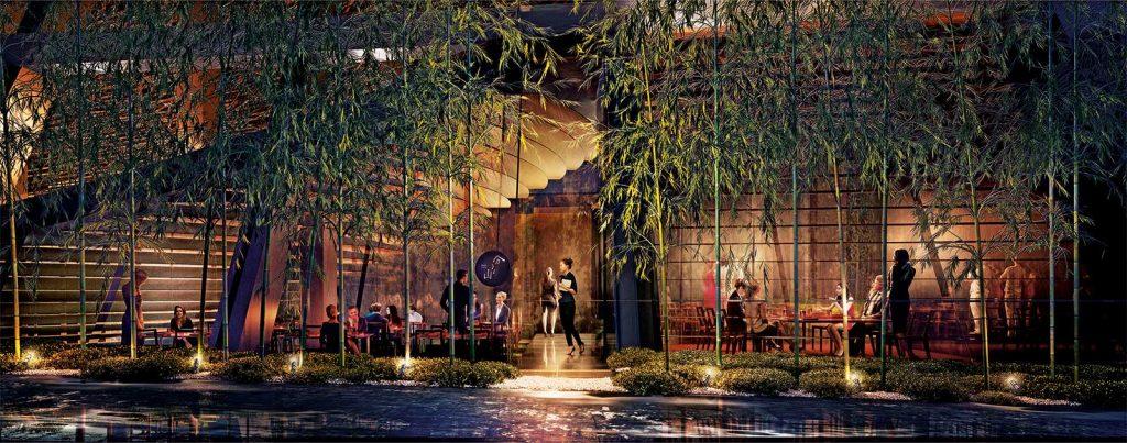 Waketokuyama Japanese Restaurant at Alberni by Kengo Kuma - 1550 Alberni