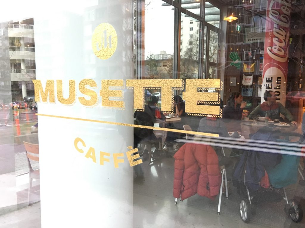 Musette Caffe exterior