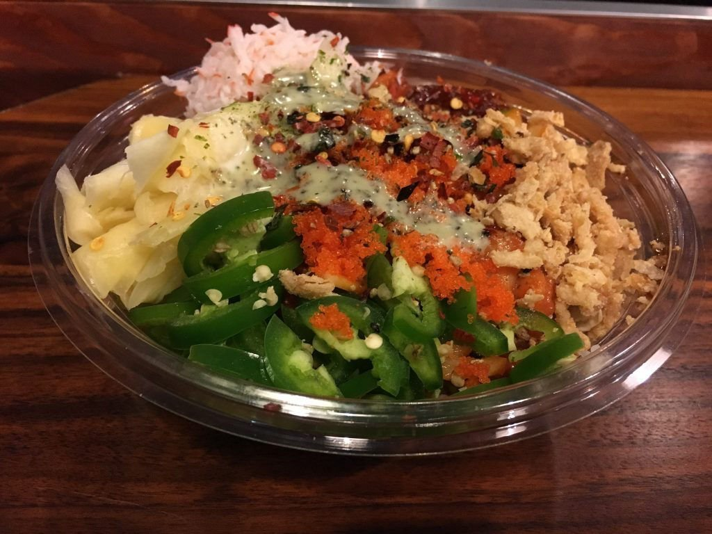 Diamond Head poke bowl