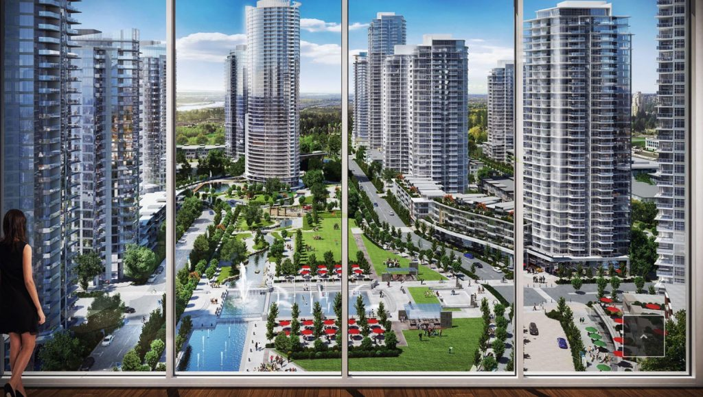 Southgate City view rendering