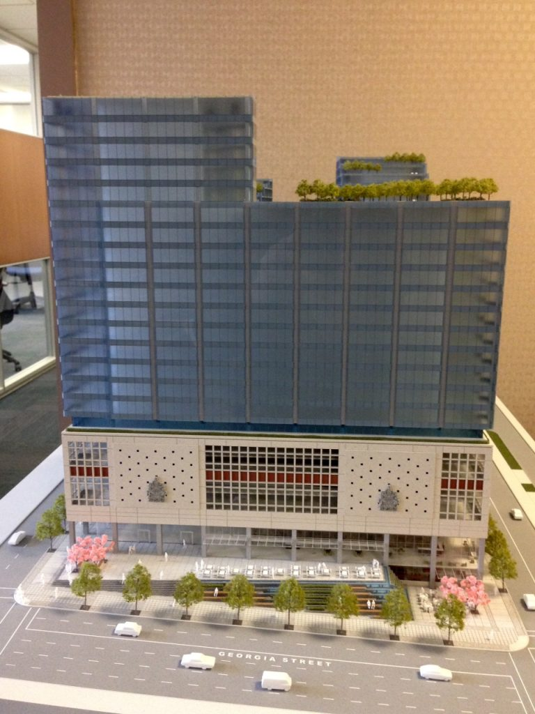 Vancouver post office redevelopment