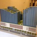 New models of Downtown Vancouver post office redevelopment