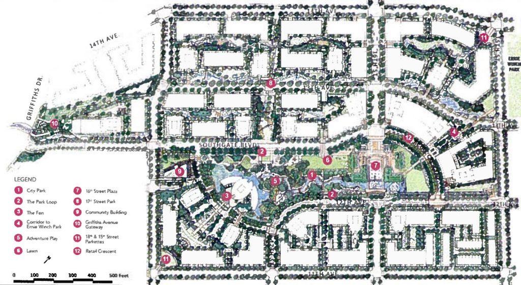 Southgate City master plan