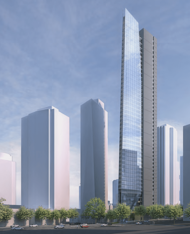 Spectacular Flat Iron tower proposed for downtown Vancouver