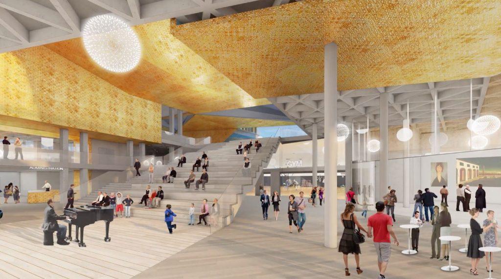 Italian Cultural Centre redevelopment by Bosa