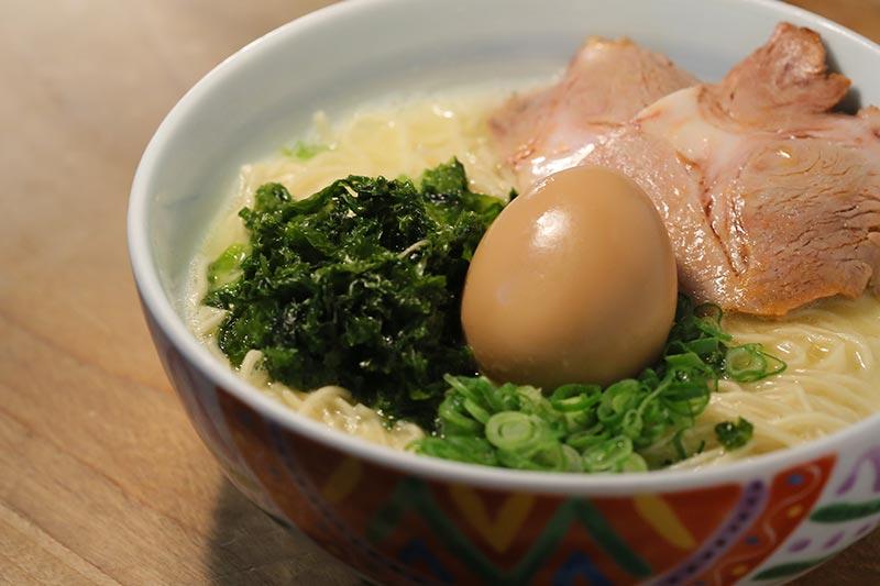 Marutama Ramen creamy chicken broth