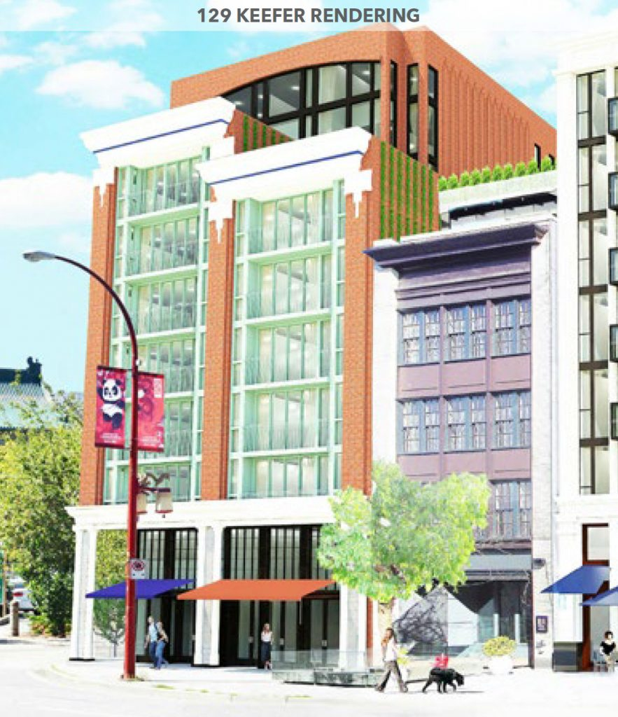 Another new condo building proposed for Vancouver's quickly-changing Chinatown