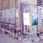 Larger electronic video screens proposed for corner of Robson and Granville