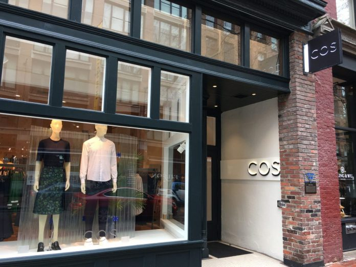 H M 39 S Cos Opens First Vancouver Store In Gastown Urbanyvr
