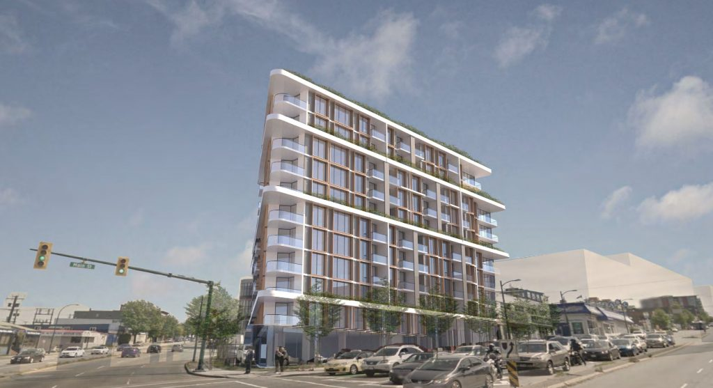 The Narrow Mount Pleasant Cressey rental apartments rendering