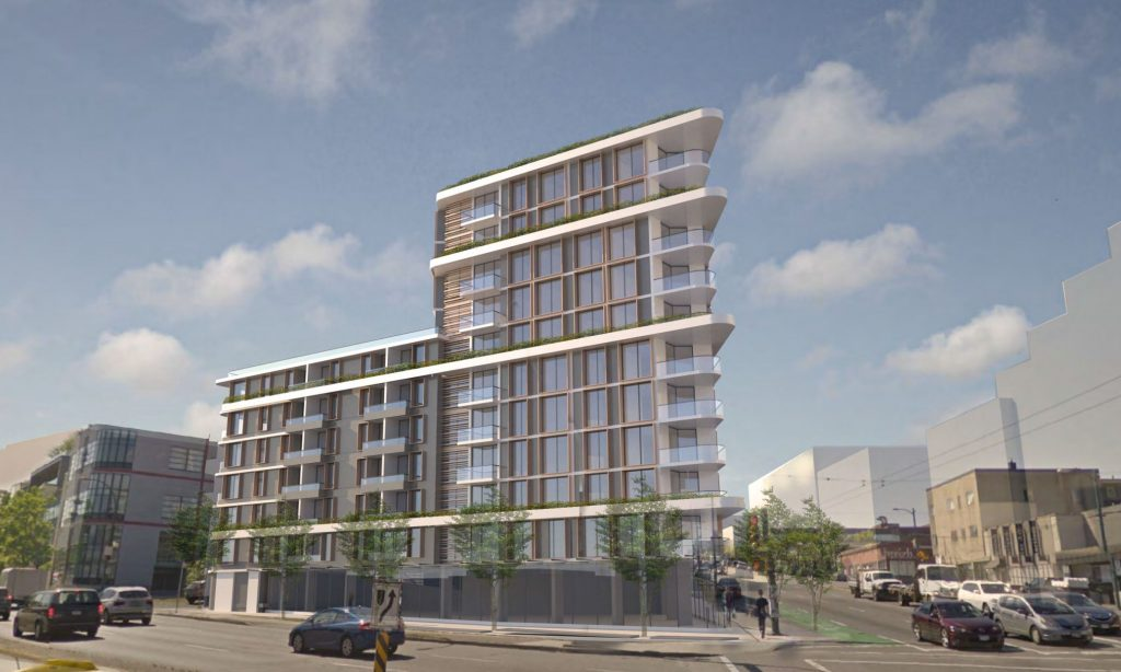 Rental apartments proposed for site of The Narrow Lounge in Mount Pleasant