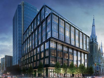 New Oxford Properties building at Dunsmuir and Homer