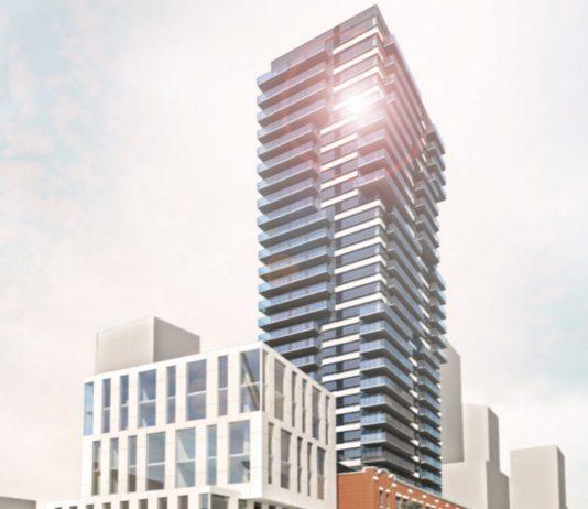 Amacon condo and hotel development rendering